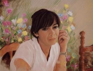 05 Retrato de mujer (Pastel)