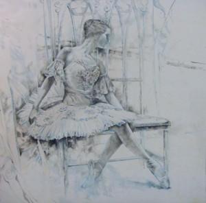 Natalia Gubanova. Óleo. 150x150