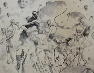 The Vassileva´s Dream. Óleo. 150x150