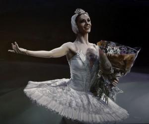 Laurretta Summerscales. English National Ballet. Óleo. 105x 86